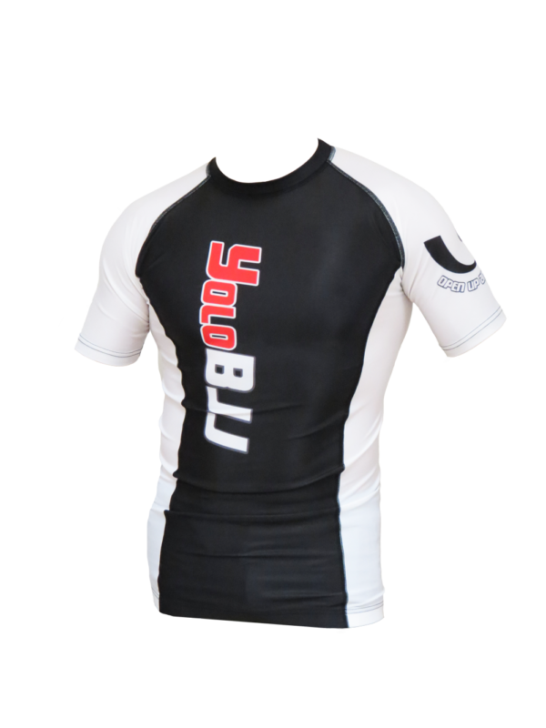 Short Sleeve Rashguard White