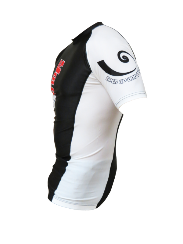 Short Sleeve Rashguard White side