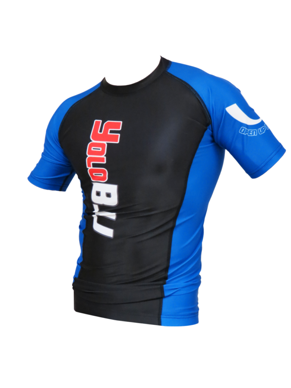 Ranked rashguards short sleeve Blue