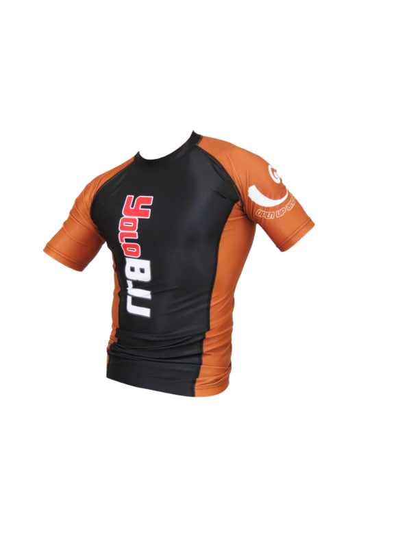 Short Sleeve Rashguard Brown