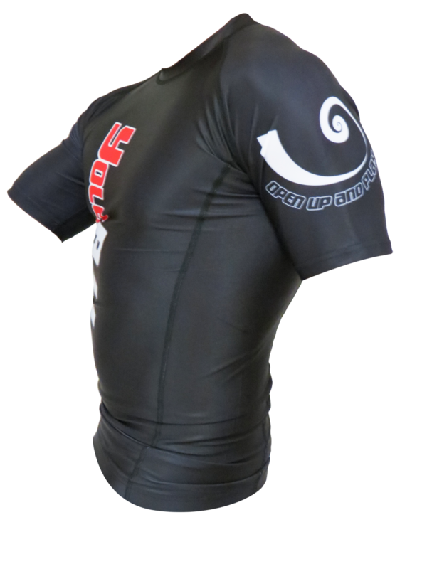 Short Sleeve Rashguard black side