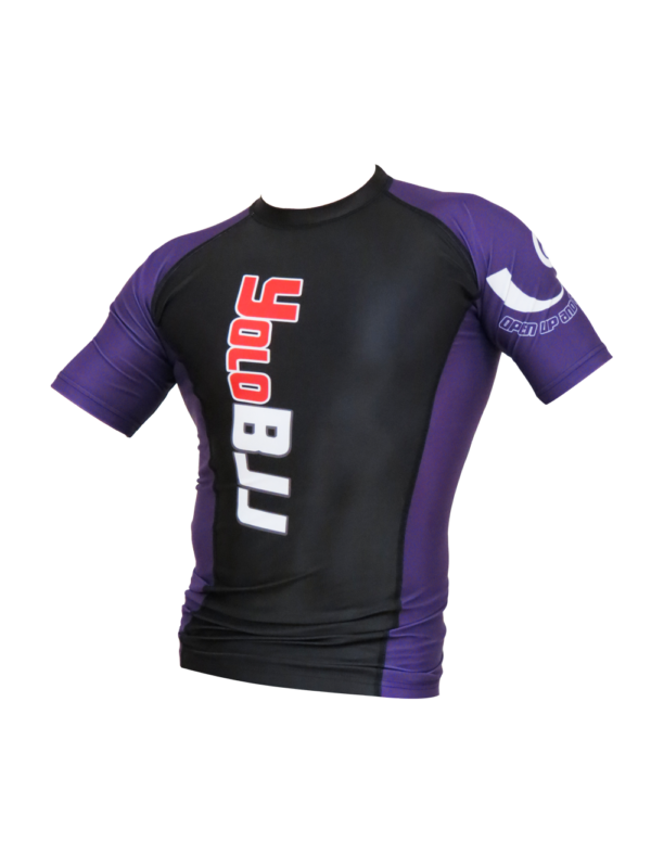 Short Sleeve Rashguard Purple