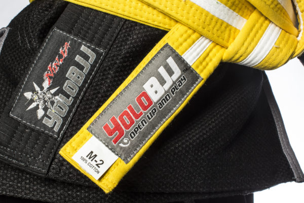 Brazilian Jiu-Jitsu Belts - Youth Yellow-white